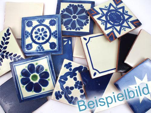 30 fliesen 10x10 b ware blau weiss kaufen im mosaik paradies. Black Bedroom Furniture Sets. Home Design Ideas