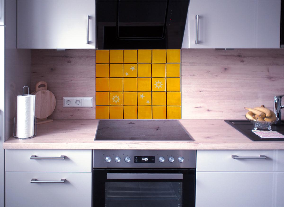 Kuchenspiegel Fliesenset Mango Weiss 30 Fliesen Kaufen Im Mosaik